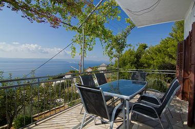 Apartementen May - with sea view: A1(2+2), A2(6+2)  Marusici - Riviera Omis